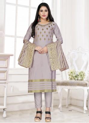 Lavender Color Bollywood Salwar Kameez