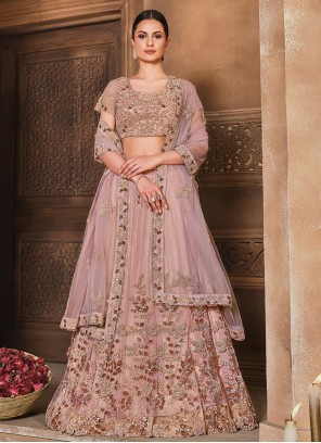 Pink Lehenga Choli For Engagement