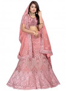 Pink Lehenga Choli For Mehndi