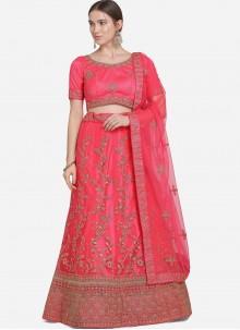 Pink Lehenga Choli For Sangeet