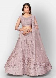 Pink Dori Work Lehenga Choli For Sangeet