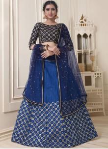 Blue Lehenga Choli For Wedding