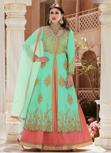 Lovable Banglori Silk Long Choli Lehenga