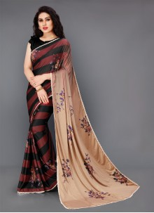 Lycra Multi Colour Classic Saree