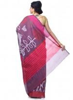 Magenta Banarasi Silk Zari Classic Designer Saree