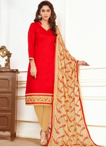 Magnificent Cotton   Churidar Suit