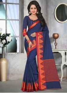 Majestic Thread Work Classic Saree