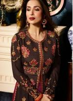 Malaika Arora Khan Resham Work Long Choli Lehenga