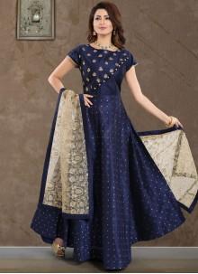 Malbari Silk  Salwar Suit