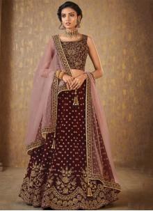 Malbari Silk  Trendy Lehenga Choli