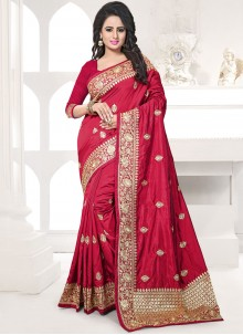 Maroon Designer Traditional Saree