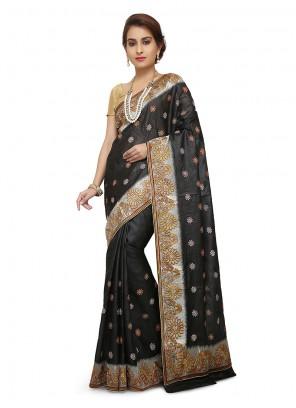 Maroon Weaving Sangeet Designer Traditional Saree
