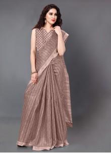 Mauve  Casual Designer Bollywood Saree