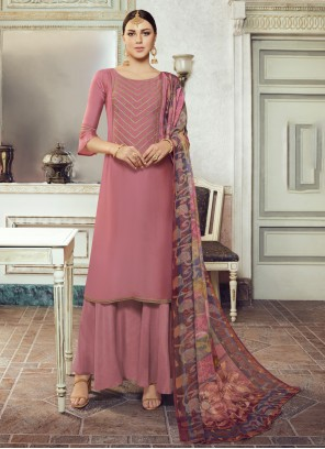 Mauve  Festival Designer Pakistani Salwar Suit