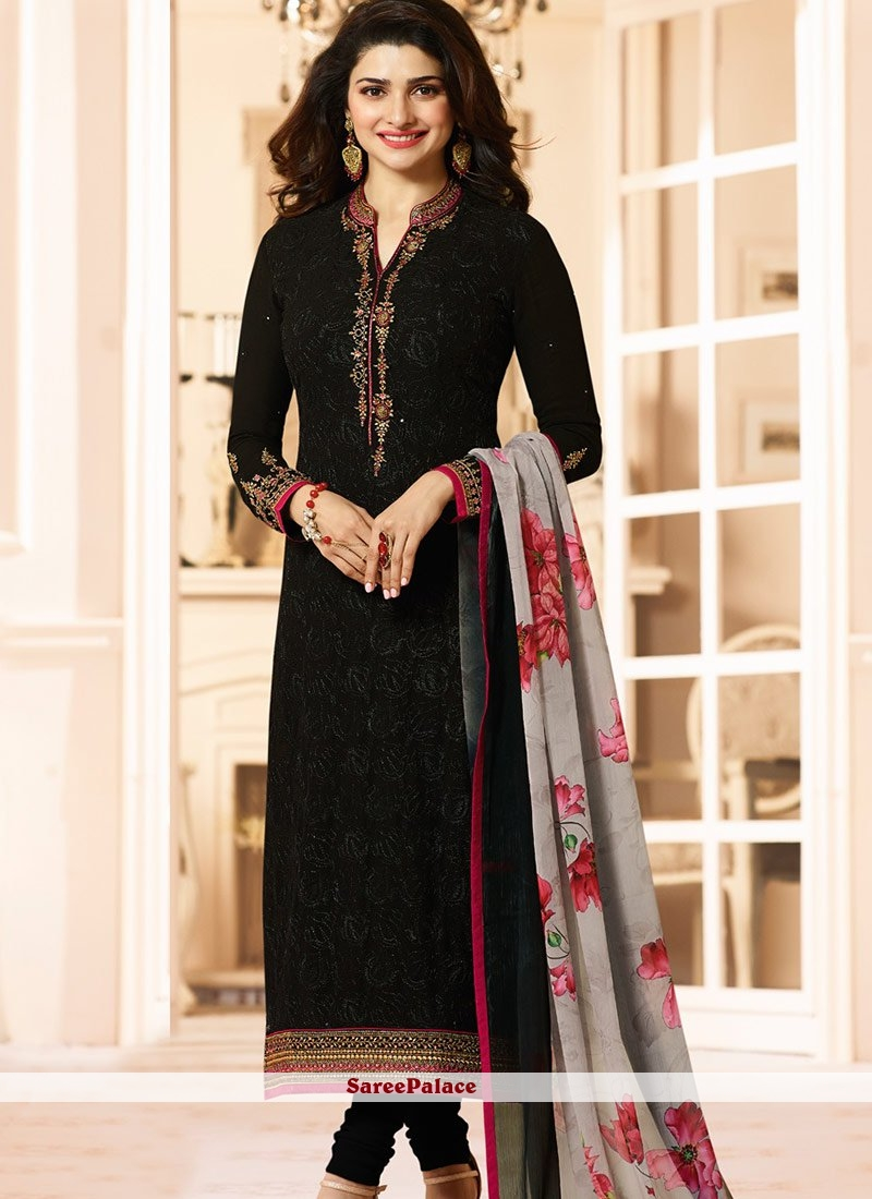 72fa1170a Buy Mesmeric Black Salwar Suit Online