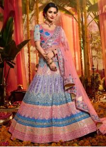 Mirror Multi Colour Trendy Lehenga Choli