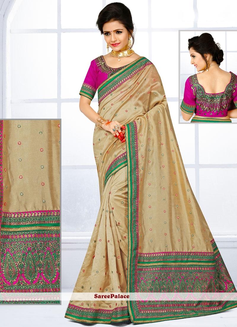 Mod Art Silk Traditional Designer Saree