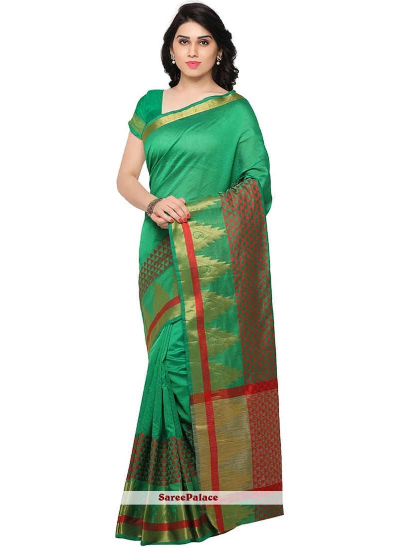 Modest Banarasi Silk Weaving Work Traditional  Saree