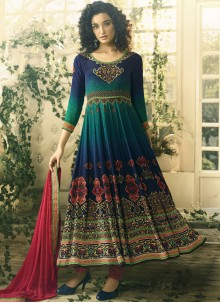 Multi Colour Anarkali Salwar Suit
