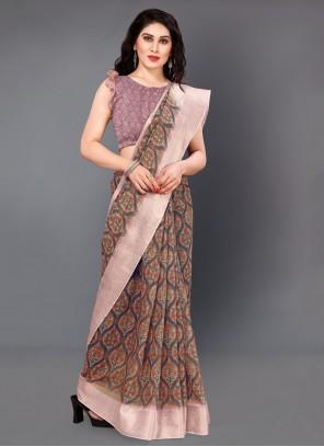 Multi Colour Casual Silk Classic Saree