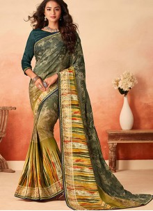 Multi Colour Casual Traditional Saree