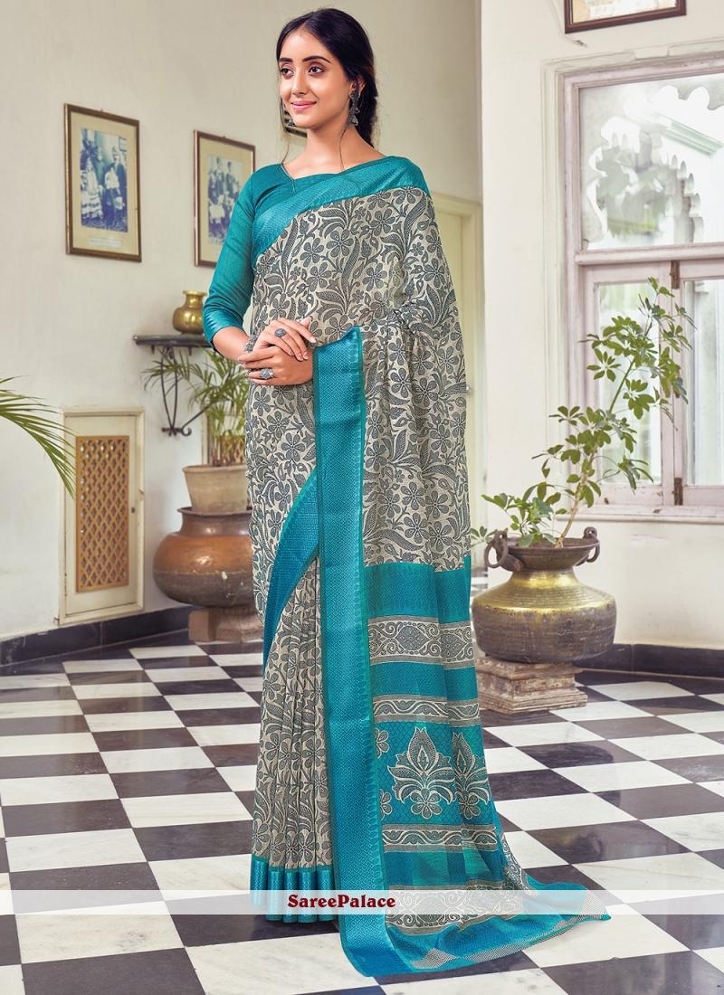 Multi Colour Casual Traditional Saree