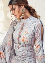 Multi Colour Ceremonial Cotton Bollywood Salwar Kameez