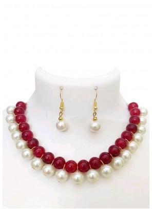Multi Colour Ceremonial Necklace Set