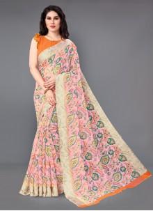 Multi Color Casual Saree