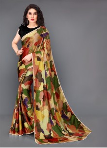 Multi Colour Color Classic Saree