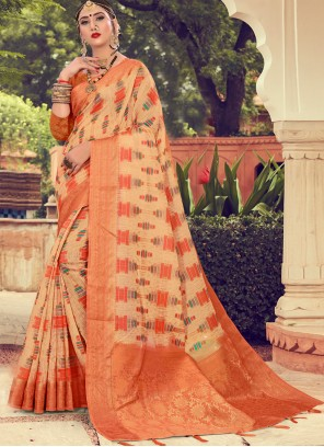Multi Colour Color Contemporary Saree