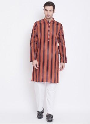 Multi Colour Color Kurta Pyjama