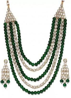 Multi Colour Color Necklace Set