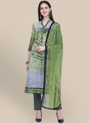 Multi Colour Cotton Festival Designer Suit