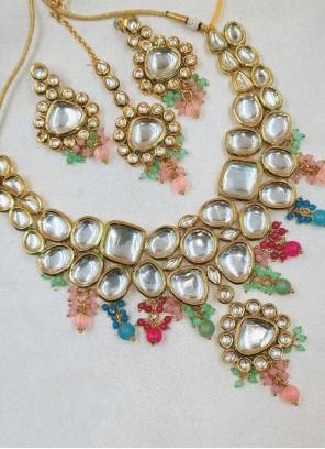 Multi Colour Engagement Necklace Set