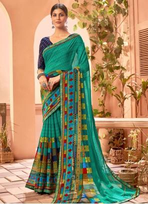 Multi Colour Fancy Fabric Saree