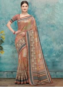 Multi Colour Fancy Festival Traditional Saree