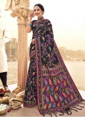 Multi Colour Festival Classic Saree
