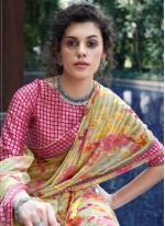 Multi Colour Festival Designer Saree