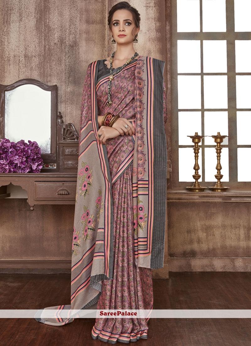 Multi Colour Festival Fancy Fabric Casual Saree