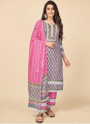 Multi Colour Festival Pant Style Suit