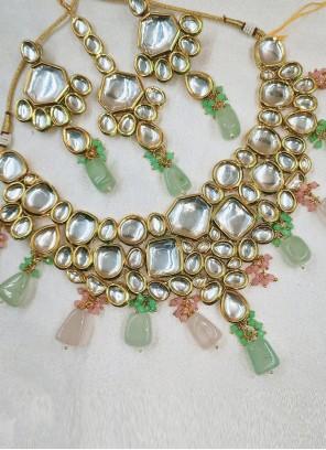 Multi Colour Moti Festival Necklace Set