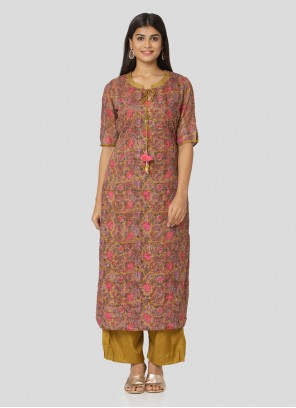 Multi Colour Reception Salwar Suit
