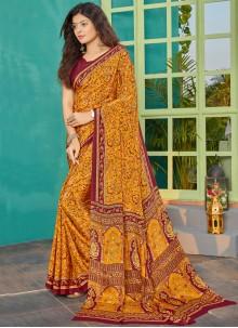 Multi Colour Party Bollywood Saree