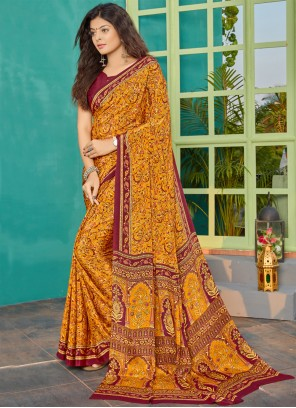 Multi Colour Party Bollywood Saree