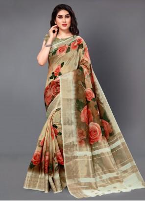 Multi Colour Party Classic Saree