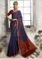 Multi Colour Party Contemporary Saree