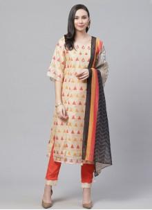 Multi Colour Party Designer Salwar Kameez