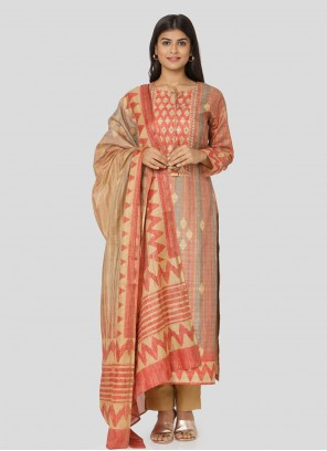 Multi Colour Printed Salwar Kameez