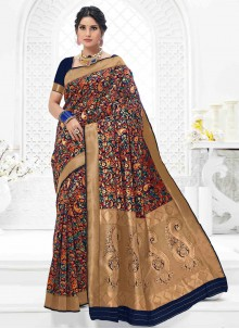 Multi Colour Sangeet Classic Designer Saree